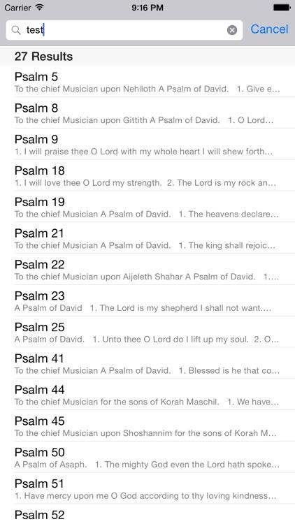The Book of Psalms screenshot-3