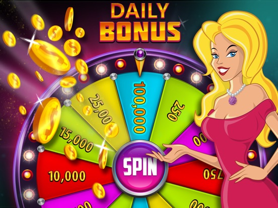 Screenshot #4 for Slots Surprise - 5 reel, FREE casino fun, big lottery bonus game with daily wheel spins