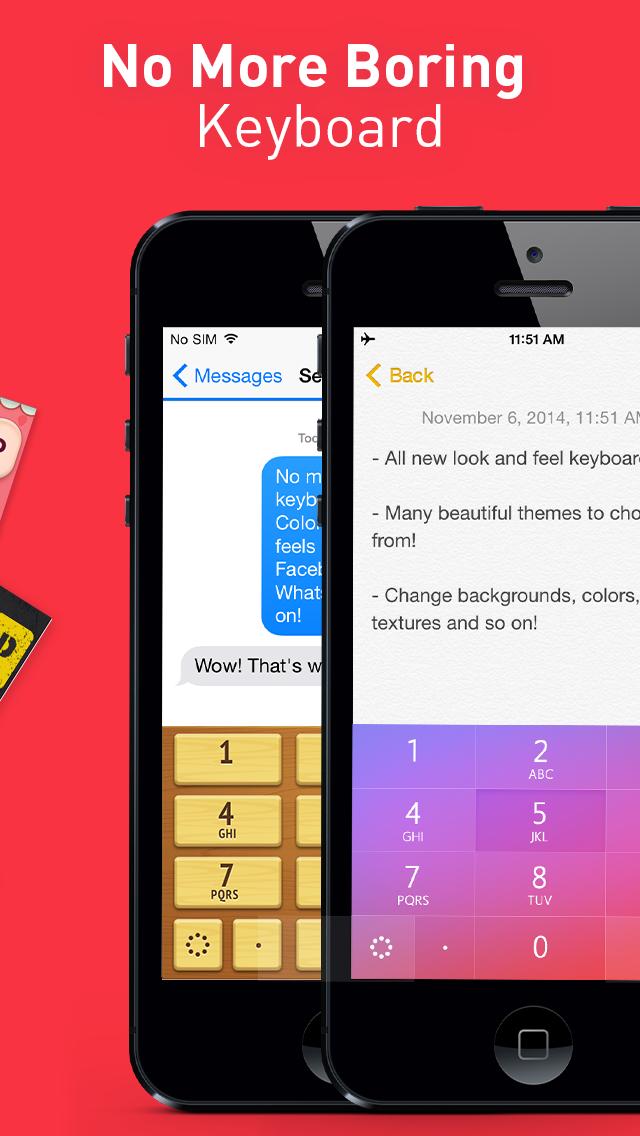 キーボードテーマ Pro – iPhone、iPad、iPod用の カスタムできる新しいキーボードスキンのおすすめ画像5