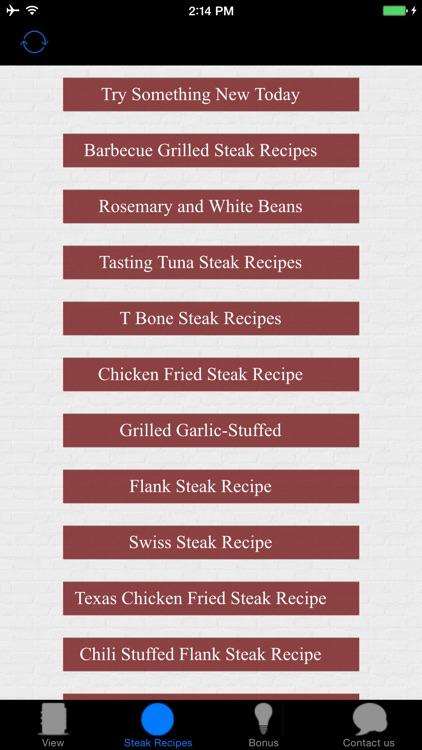 Beautiful Steak Recipes - Barbecue