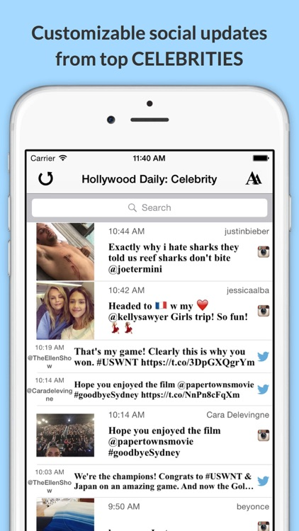 The Daily Planet Celeb!: Get the Latest News, Videos, Photos & More from Hollywood! screenshot-1