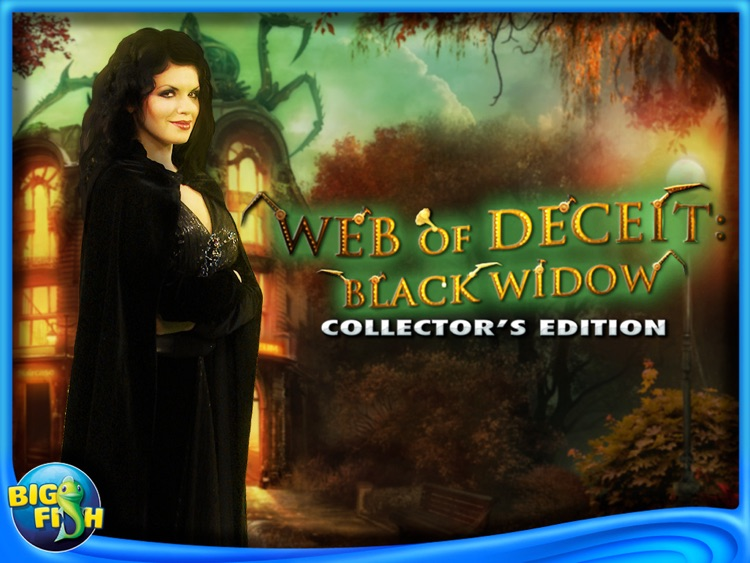 Web of Deceit: Black Widow HD - A Hidden Object Adventure screenshot-4