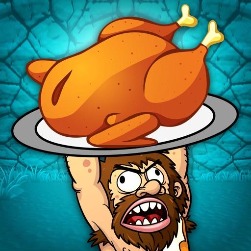 A Dinosaur Island Village Diner FREE - The Dino Age Cave-Man Food Game iOS App