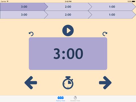 Classroom Fluency Timer - náhled