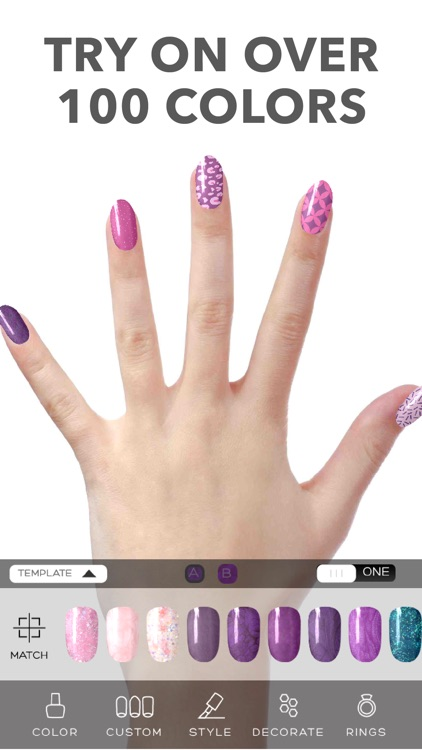 Virtual Nail Salon screenshot-0