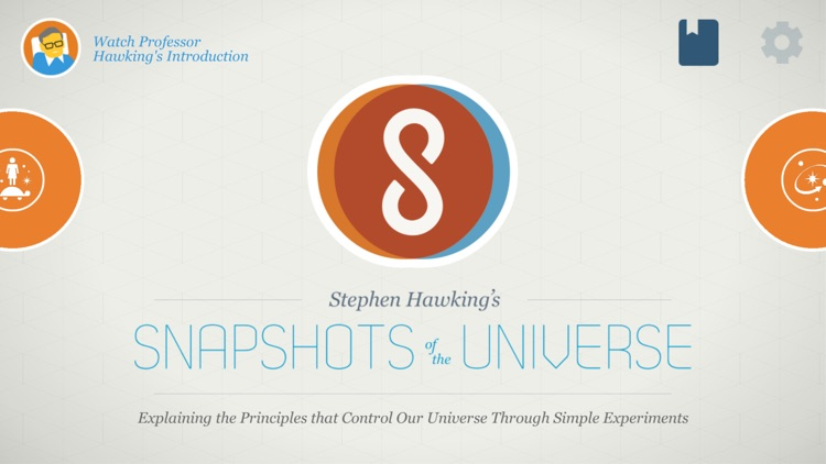 Stephen Hawking's Snapshots of the Universe for iPhone