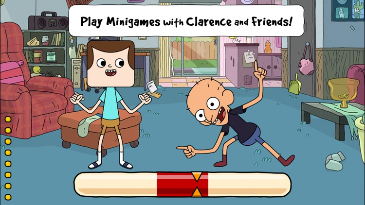 Clarence's Amazing Day Out – A Collection of Fast, Funny Minigames screenshot-0
