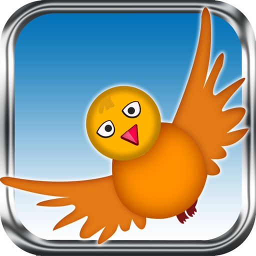 Fly Birdie - One touch branch jump icon