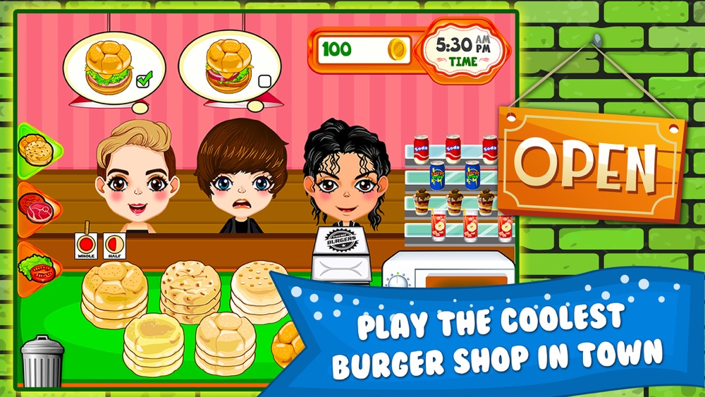 Burger Cooking Restaurant Maker Jam – the mama king food shop in a jolly diner story dash game! Cheat Codes