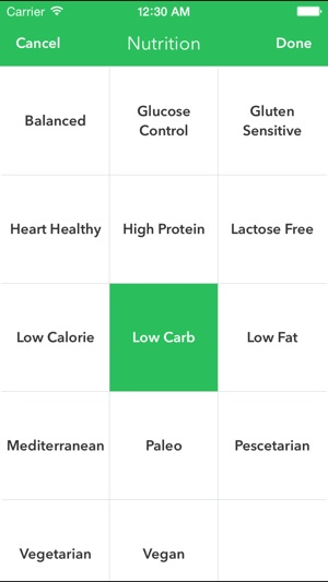 Healthyout Healthy Restaurant Nutrition Guide On The App Store