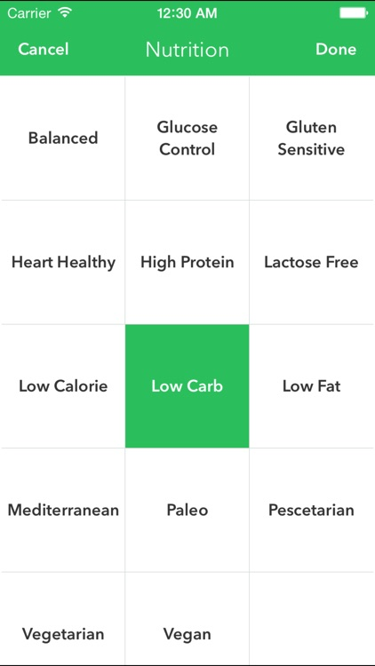 HealthyOut - Healthy Restaurant Nutrition Guide