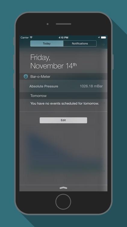 Bar-o-Meter - Altimeter & Barometer screenshot-4