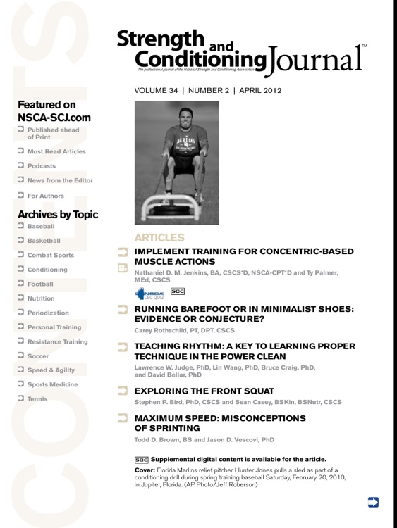 Strength & Conditioning Journal