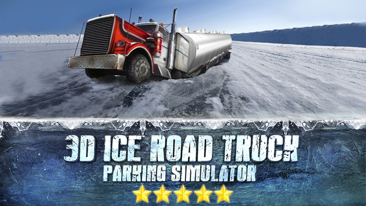 Truck Parking Simulator - Ice Road Truckers Edition screenshot-0