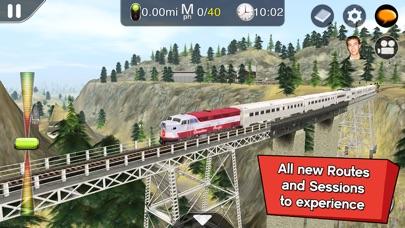 Trainz Driver 2 - train driving game, realistic 3D railroad simulator plus world builder screenshot 1