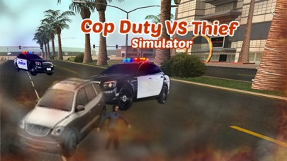 逮捕強盗という警官のデューティ·オフィサー - 泥棒駆動&レーシング対警察の車のスクリーンショット1