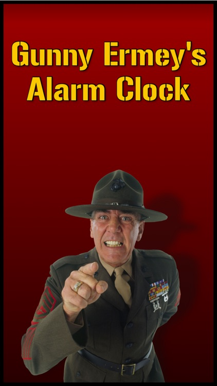 Gunny Ermey's Alarm Clock screenshot-0