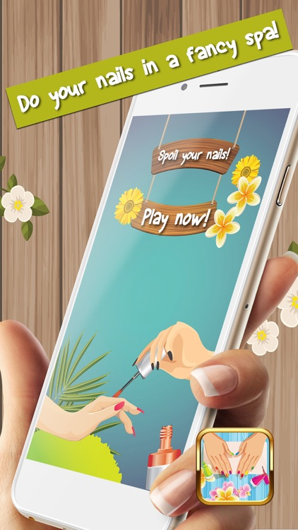 Nail Polish Games For Girls – Cute Manicure Design Idea.s and Beauty Salon Make-Over Free