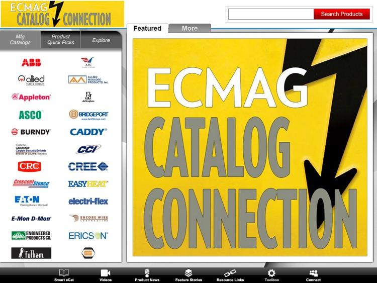 ECMAG CATALOG CONNECTION App