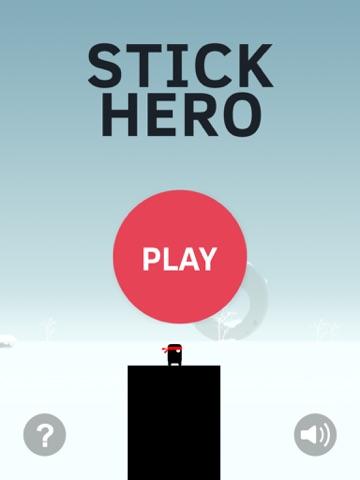 Stick Hero на iPad