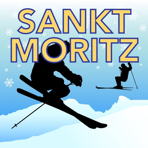 Sankt Moritz Ski Map