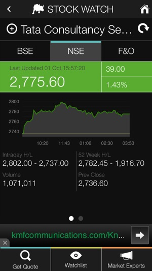 Stock Watch: BSE / NSE on the App Store