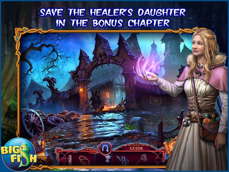 League of Light: Wicked Harvest HD - A Spooky Hidden Object Game (Full) screenshot-3