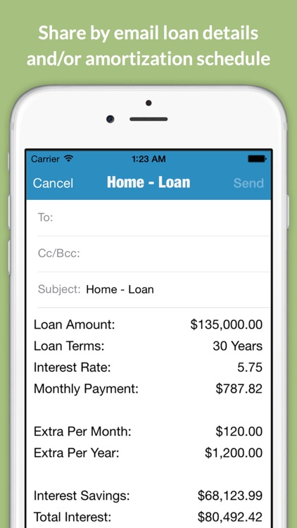 Loantune What If Loan Calculator screenshot-4
