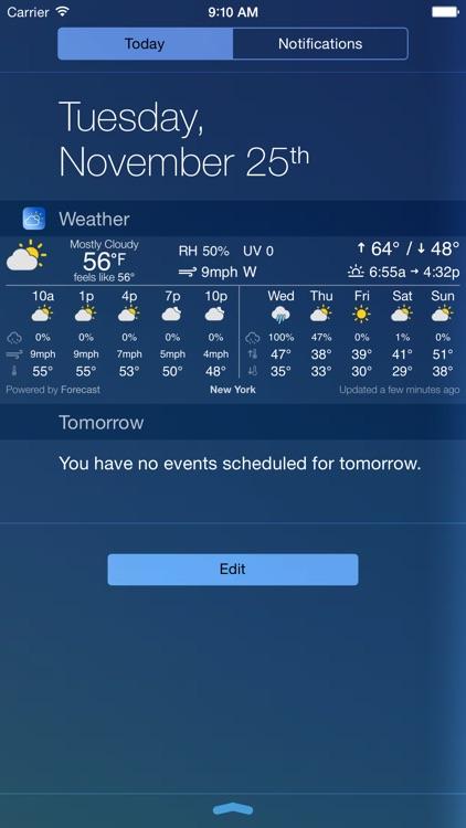 Simple Weather Widget - Compact, detailed, configurable, elegant, hyper-local.