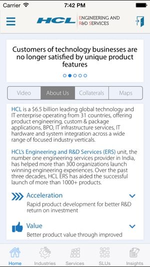 what on my iphone hcl ers on the app 16477