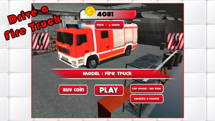 3D Rescue Racer Traffic Rush - Ambulance, Fire Truck Police Car and Emergency Vehicles : FREE GAME screenshot-3