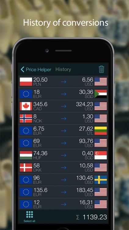 Currency converter - Price Helper screenshot-4