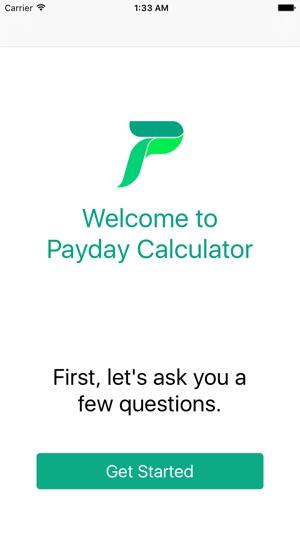payday calculator 2018