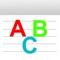 Little ABC Alphabet Phonics - Tracing For Preschool Kids