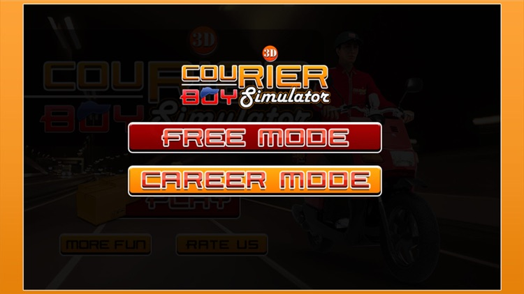 3D Courier Boy Simulator - Best courier, postal service and rider simulation game