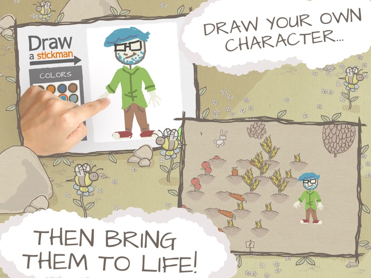 Draw a Stickman: EPIC HD Free screenshot-1
