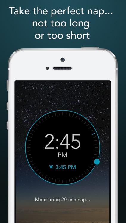 Power Nap HQ: 750 sound sleep tracking alarm clock screenshot-3