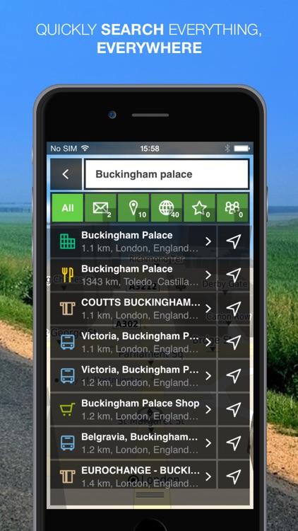 NLife Western Europe Premium - Offline GPS Navigation, Traffic & Maps screenshot-3