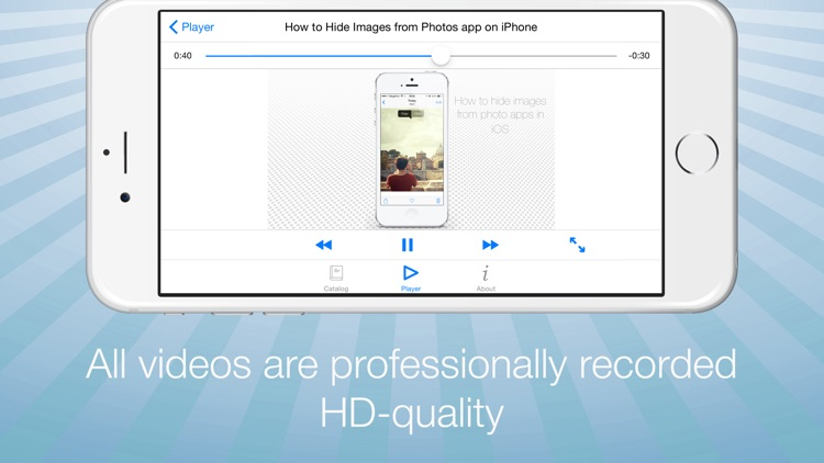 Video Guide for iPhone and iOS 8 screenshot-3