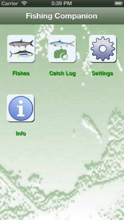 SC Saltwater Fishing Companion