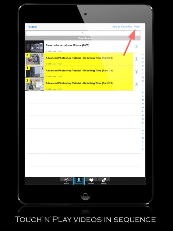 V-Downloader+ HD - Download & Play Online Videos screenshot-3