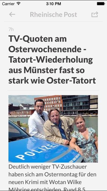 Zeitungen DE - Die wichtigsten Zeitungen in Deutschland screenshot-3