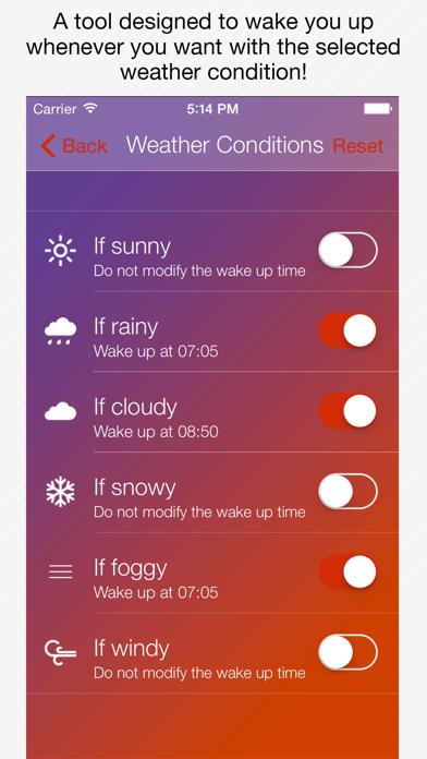Genius Alarm- Weather Smart Alarm Clock, Set up wake-up alarms according to the weather forecast!のおすすめ画像4