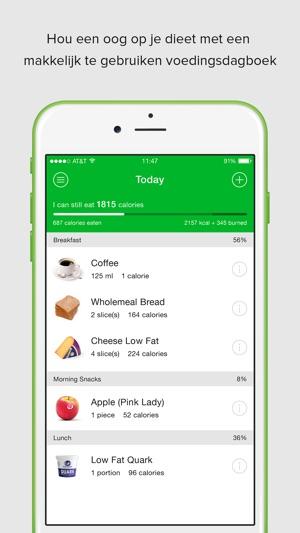 dieet apps iphone