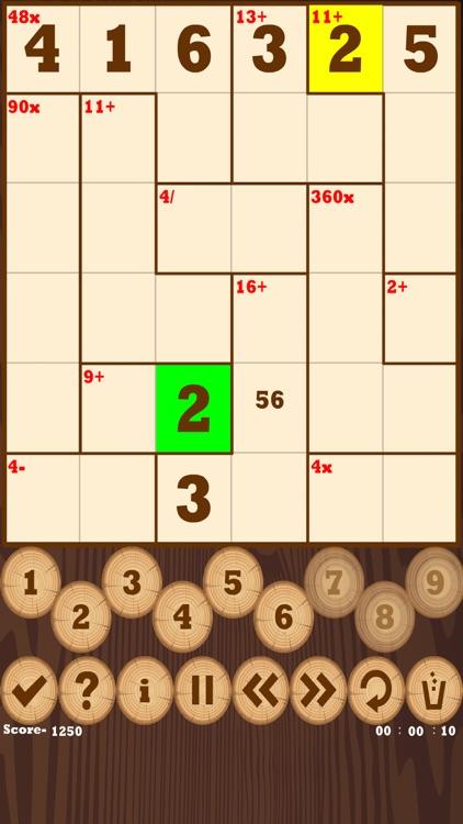 Calcudoku(Mathdoku) screenshot-3