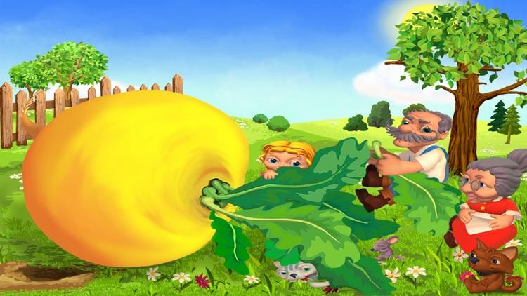 Репка - живая и добрая интерактивная развивающая сказка для детей. screenshot-4