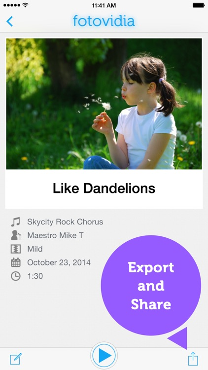 fotovidia: slideshow video maker from photos and music screenshot-3