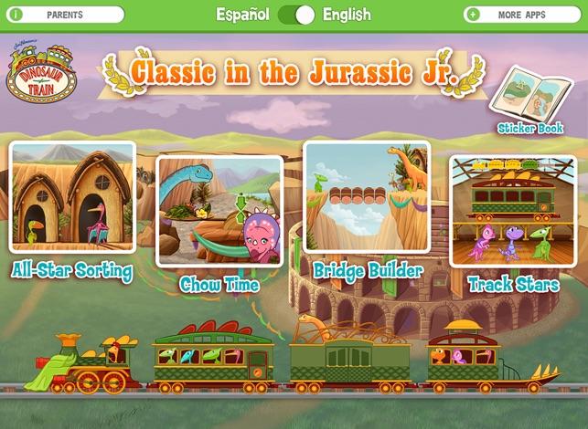 pbs dinosaur train games