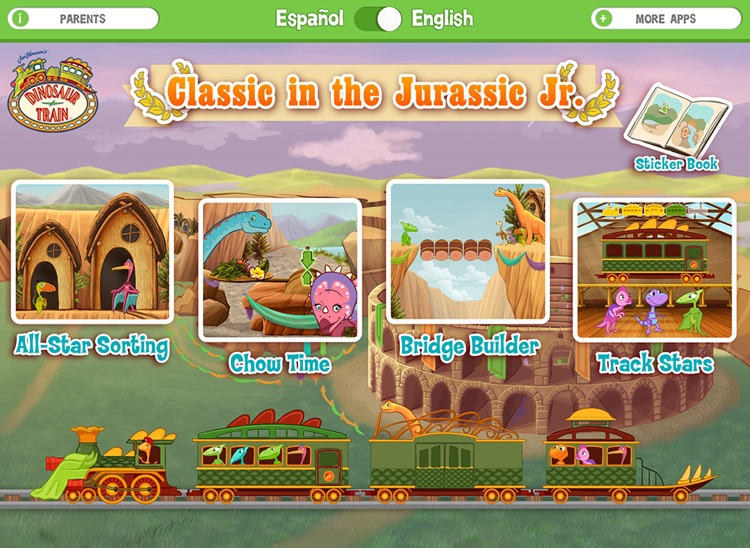 Dinosaur Train Classic in the Jurassic, Jr.! screenshot-0