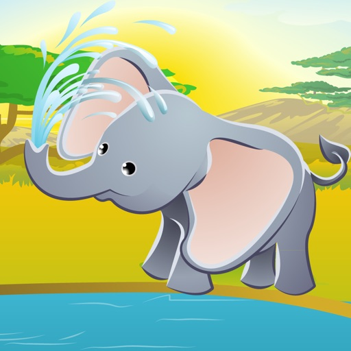 Animals of the safari game for children: Learn for kindergarten or pre-school iOS App